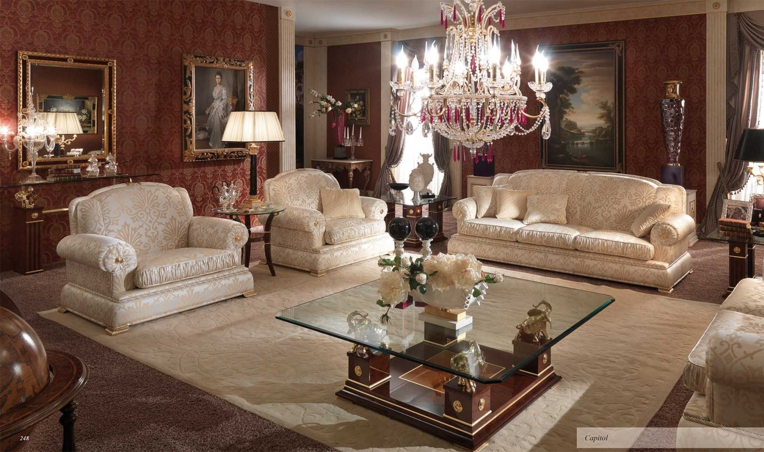 mobili italiani in stile classico / Serena Group